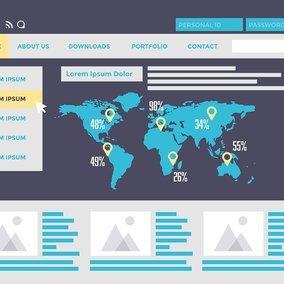 Free Web Design Vector Website