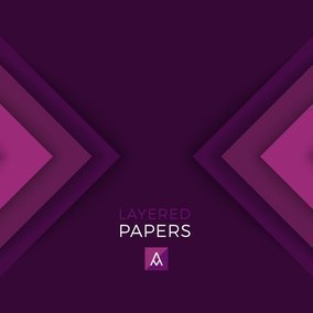 Triangle Layered Papers
