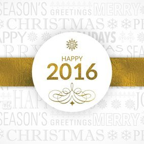 Happy 2016 Design