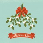 Small 1x mistletoe kisses