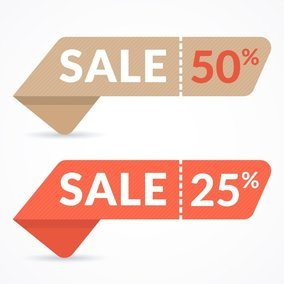 Sale Paper Banners