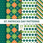 Small 1x st patricks day patterns