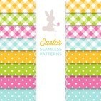 Small 1x easter seamless patterns