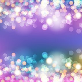 Glamourous Bokeh Lights Vector Background
