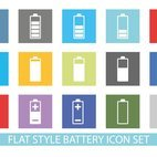 Small 1x dd flat battery icon set 23432 preview