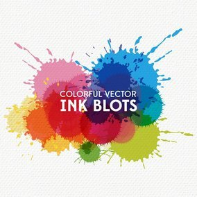 Colorful Ink Blots