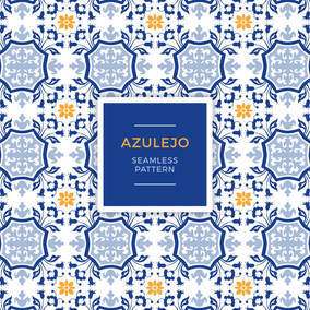 Azulejo Seamless Pattern