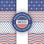 Small 1x patriot seamless patterns