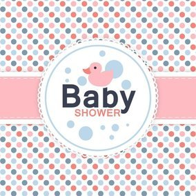 Baby Shower Card 10240 Dryicons