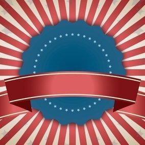 Patriotic Style Vector Background