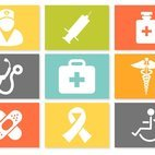 Colorful Medical Icon Set