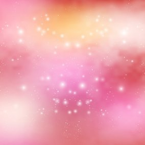 Beautiful Pink Space Background