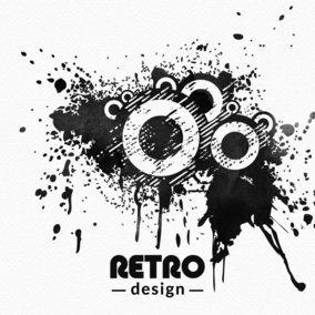 Retro Grunge Design