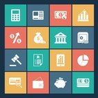 Small 1x finance vector icons