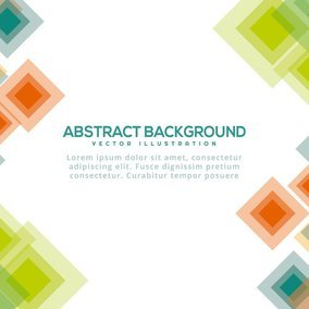 Abstract Squared Vector Background