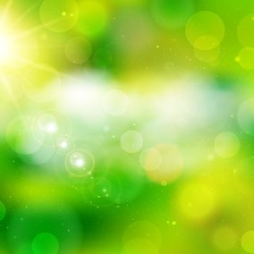 Beautiful Green Abstract Background