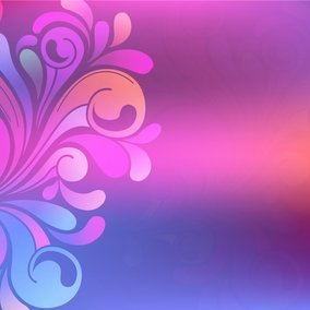 Colorful Blurred Swirl Background