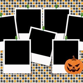 Halloween photo collage template 10338 dryicons halloween photo collage template maxwellsz