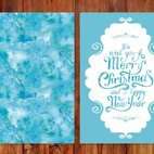 Watercolor Christmas Card