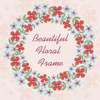 Small 1x dd floral frame 23123 preview