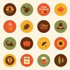 Small 1x colorful autumn vector icons