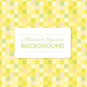 Cute Squares Background