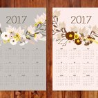 Small 1x dd 2017 floral calendars 44509 preview