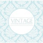 Elegant Light Blue Damask Background