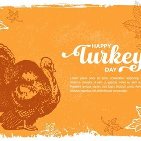 Happy Turkey Day Greeting Card