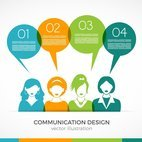 Small 1x communication vector design
