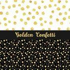 Small 1x golden confetti patterns