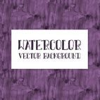 Beautiful Purple Watercolor Background
