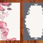 Small 1x dd floral card 32432 preview