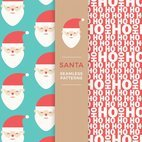 Small 1x santa seamless patterns