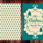 Cute Christmas Vector Card