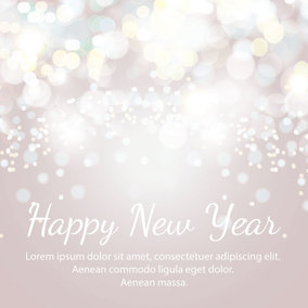 Happy New Years Abstract Background