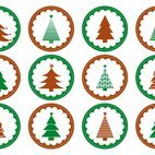 Small 1x dd christmas tree stamps 45234 preview