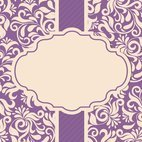 Small 1x dd damask card template 09342 preview
