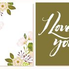 Small 1x dd floral card 45634 preview