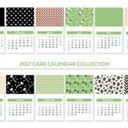 Small 1x dd calendar card collection 67549 preview