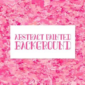 Abstract Pink Painted Background
