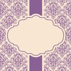 Small 1x dd damask card template 22309 preview