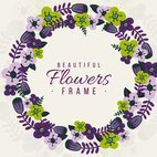 Small 1x dd floral frame 00989 preview