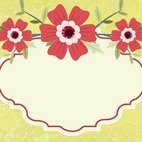 Small 1x dd floral invitation template 77434 preview