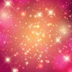 Beautiful Pink Stardust Background