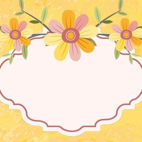 Beautiful yellow floral illustration 10599 dryicons beautiful yellow floral illustration stopboris Image collections