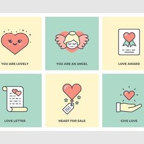 Flat Line Love Designs