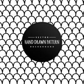 Hand Drawn Style Dots Background