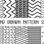 Small 1x dd hand drawn pattern set 00098 preview
