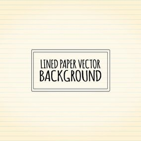 Lined Vector Paper Background